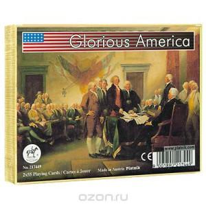 """Набор игральных карт """"Гордость Америки"""""""