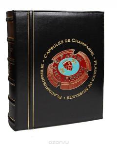"""Альбом """"ALB CHAMP 35"""" для крышек от шампанского, без футляра, с листами."""